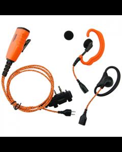 ICOM Headset 3 i 1 PRO nr. 29124 til ProHunt Basic 2/Compact og Basic Digital