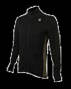 Hotwool uld jakke sort/grøn