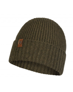 Buff Knitted Hat Biorn Tundra Khaki