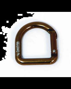 Casström No. 3 Dangler Antique Brass D-ring