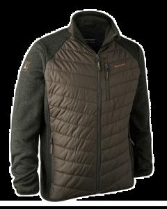 Deerhunter Moor Vateret Fleece jakke med strik. BESTSELLER