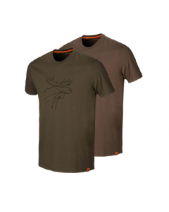 Härkila Graphic T-shirt 2-pack