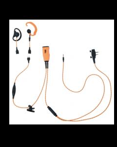 ICOM 4 i 1 headset nr. 29139 til ProHunt Basic 2/Compact og Basic Digital