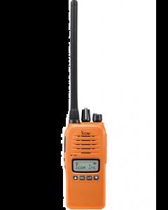 ICOM Prohunt Basic 2 Compact Jagtradio med Headset(29124) og orange Skovantenne BESTSELLER