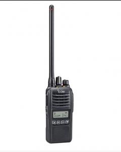 ICOM ProHunt Basic Digital Black Jagtradio Sæt(inkl. Headset 29124 og Sort Antenne)