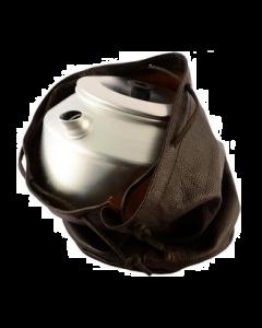 Læderfoderal til Kaffekande/Kogegrej