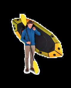 Anfibio Rebel 2K Packraft (Uden Sidelommer) - 1 Person(1975g/150kg)