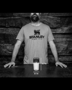 Stanley Shortstack Travel Mug Black