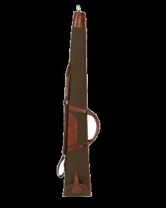 Härkila Retrieve geværfoderal i canvas/læder