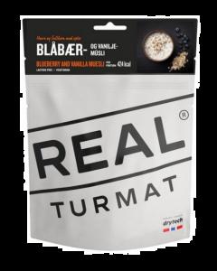 Real Turmat Blåbær og Vanillie Müsli