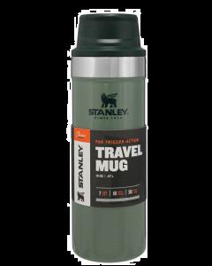 Stanley Classic One Hand Vacuum Mug STOR - GREEN - 470 ml