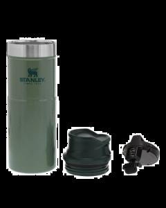 Stanley Classic One Hand Vacuum Travel Mug STOR - GREEN - 470 ml