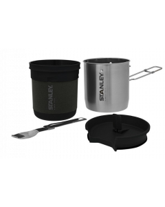 Stanley Adventure Bowl + Spork Compact Cook Set .70L SS