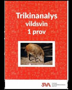 SVA Trikinanalyse-Sæt Til Vildsvin