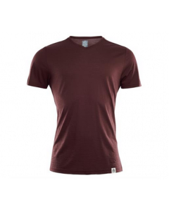 Aclima Lightwool T-Shirt Bitter Chocolate