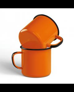 BESTSELLER - Emaljekrus - Orange. Pr. Stk.