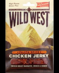 Wild West Fajita Chicken Jerky - kyllinge Jerky