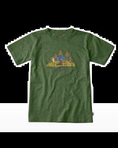 Fjällräven Kids Camping Foxes T-shirt