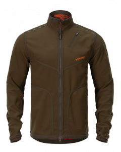 Härkila Wildboar PRO Reversible Fleece Jakke med Gore-Tex Windstopper