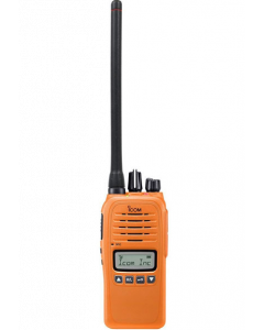 ICOM Prohunt Basic 2 Compact Jagtradio med Headset(29124) og orange Skovantenne BESTSELLER