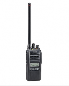 ICOM ProHunt Basic Digital Black Jagtradio Sæt(inkl. Headset 29124 og Sort Antenne)