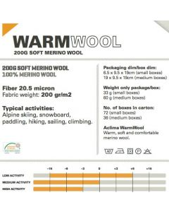 Aclima Warmwool Boxer Shorts - herre underbukser
