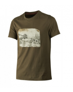 Härkila Odin Moose and Dog T-shirt