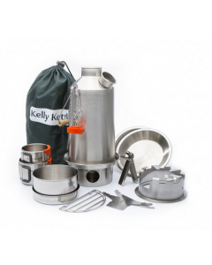 Kelly Kettle Ultimate Base Camp Kit - Stainless steel - 1,6 ltr.