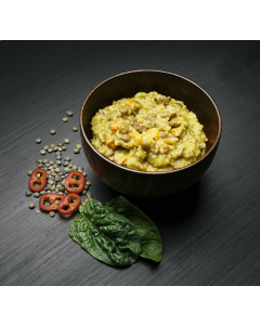Real Turmat Field Meal Couscous med Linser og Spinat