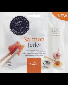 Salmon Jerky Teriyaki flavor