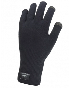 Sealskinz Waterproof All Weather Ultra Grib Knitted Gloves