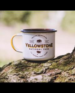 Stor Emaljekop - Yellowstone