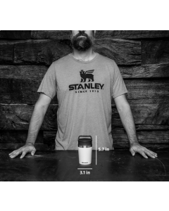 Stanley Shortstack Travel Mug Black