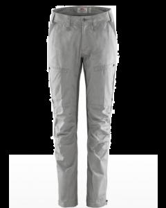 Fjällräven Abisko Lite Trekking Bukser Womens Short 34 Shark Grey/Super Grey