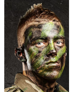 Bobby Weiner Camoflage Face Paint 5 Color