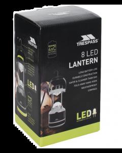 Trespass Parabola 8 Led Lampe