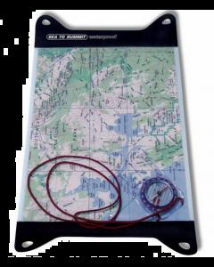 Vandtæt Kortlomme - Sea To Summit Guide Map Case Medium
